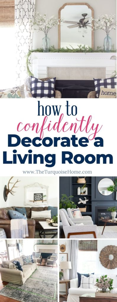How to Confidently Decorate a Living Room - space planning, wall colors, where to hang art and everything in between!